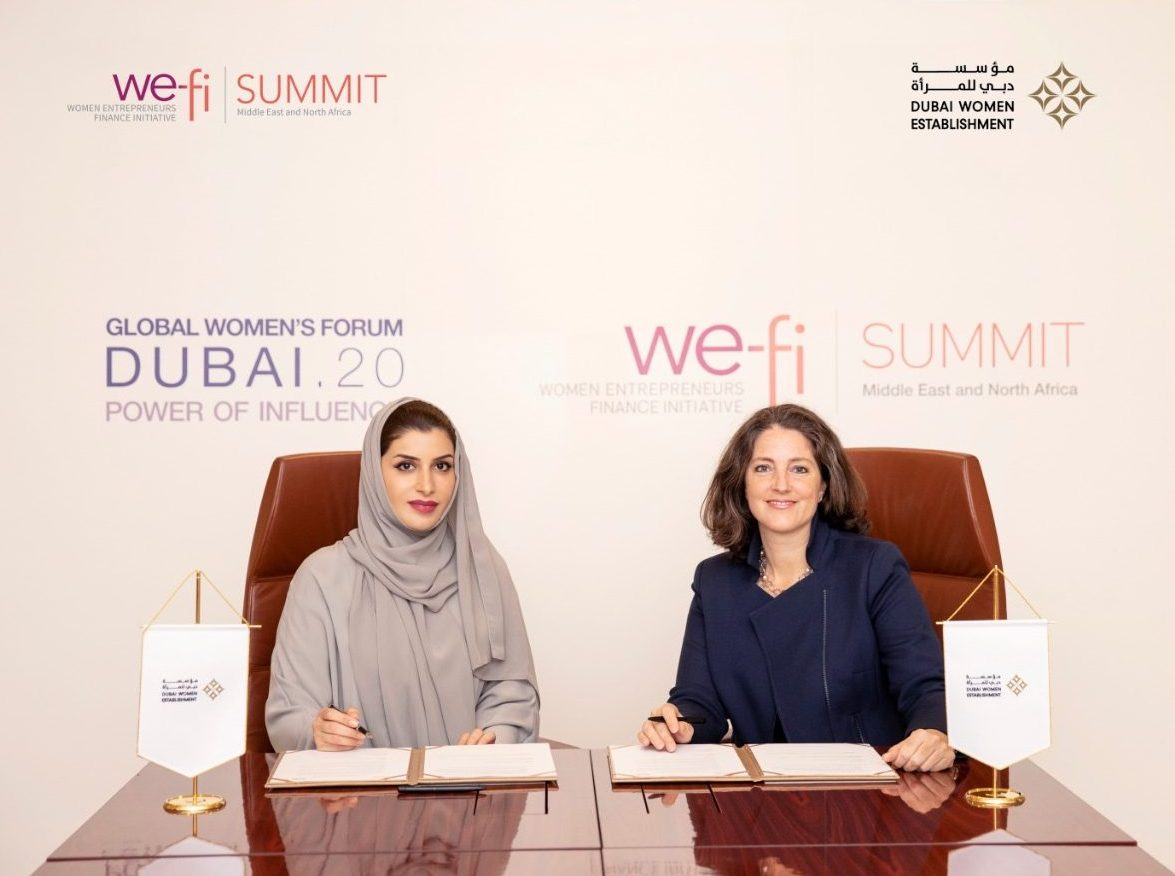 Announcing the We-Fi Summit, highlighting Middle East and North Africa
